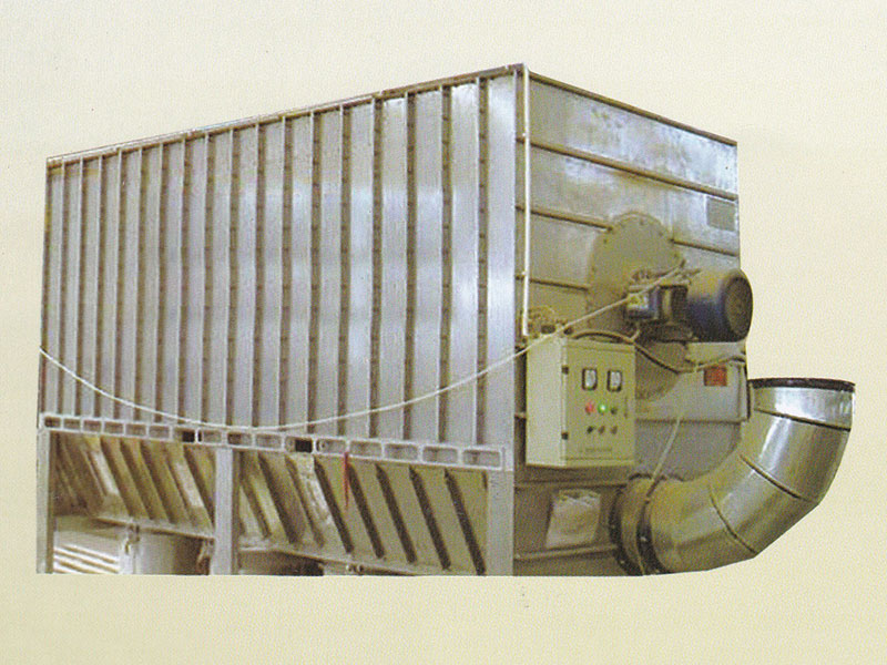 Dust removal equipment for wood workshop