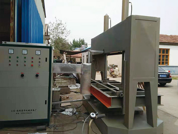 High frequency wood bending (straightening) machine